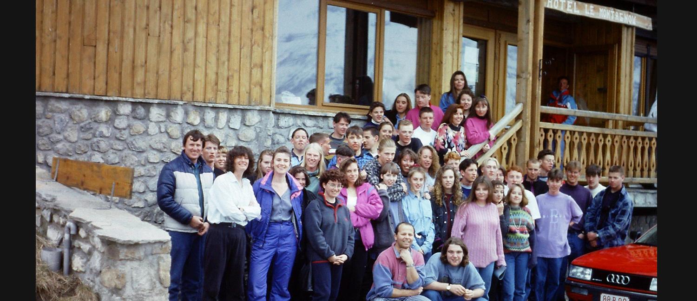 Ski Trip: France 1993