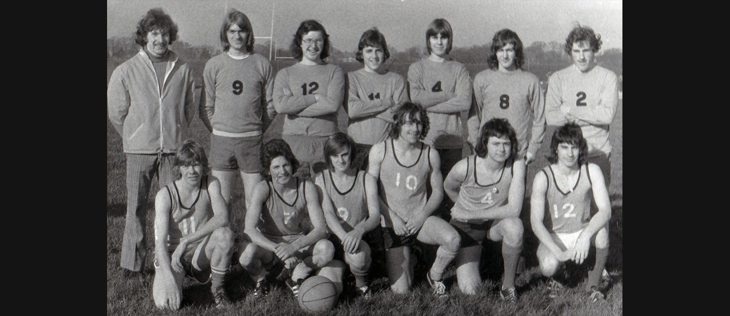 1974-75 Basketball/Volleyball Teams