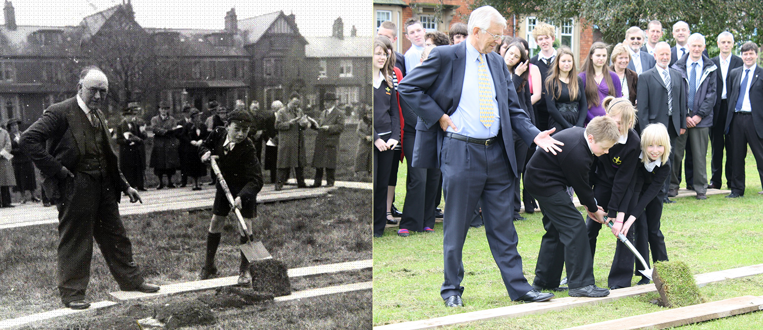 Turf Cutting: 1938 and 2009
