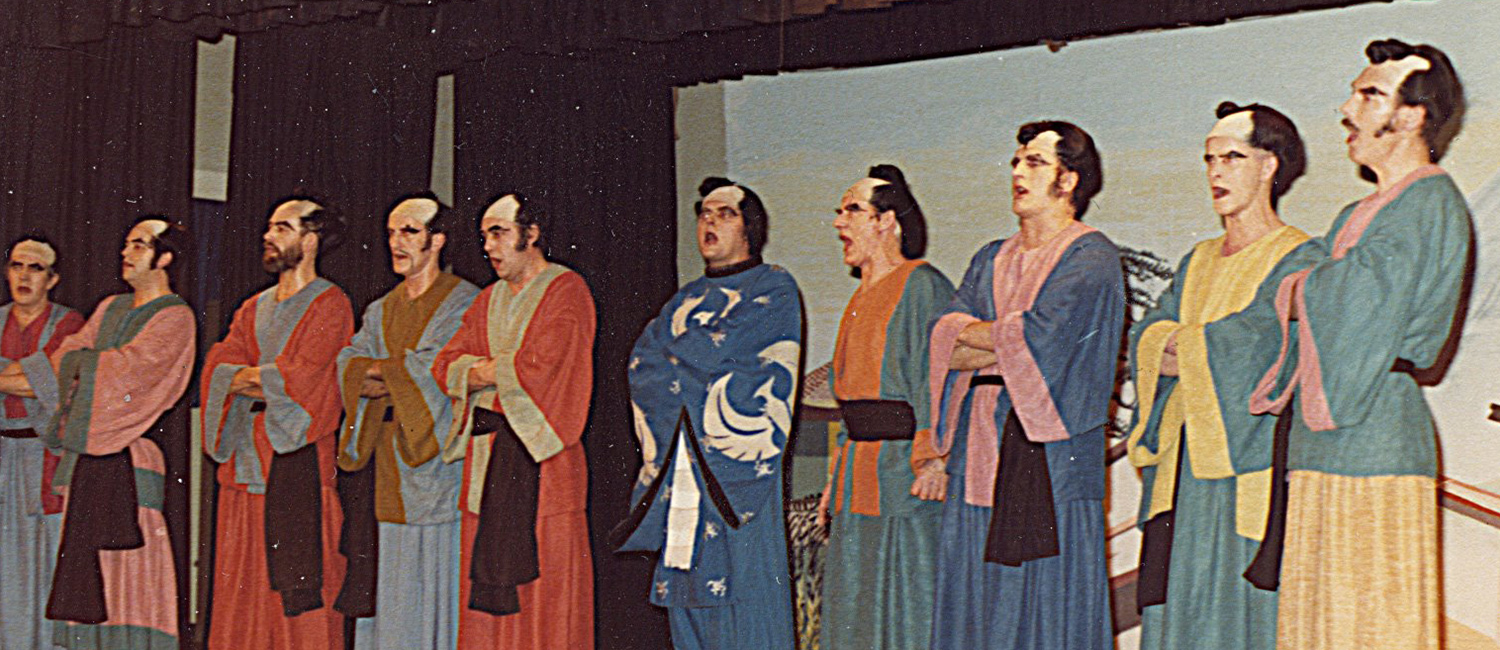 Staff Production: The Mikado 1979