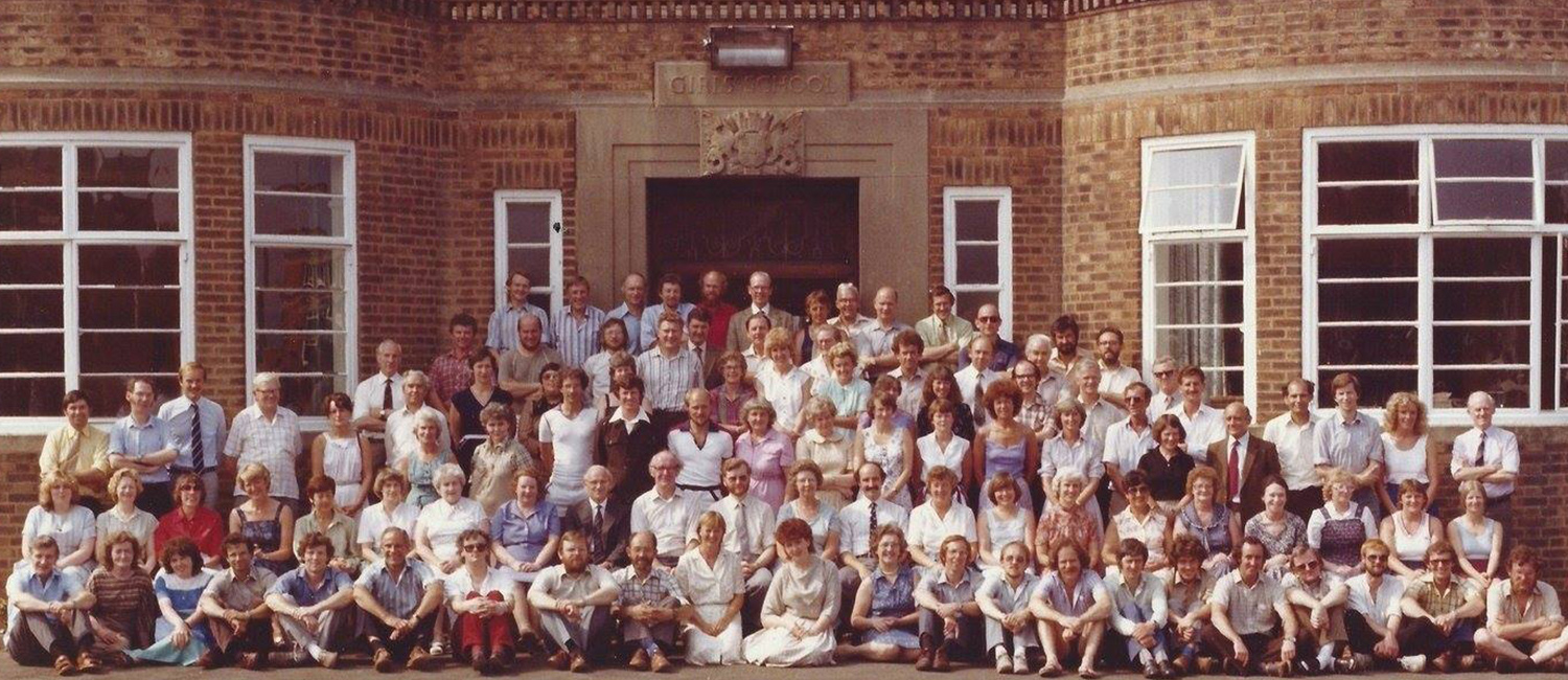Group Staff Photo 1979