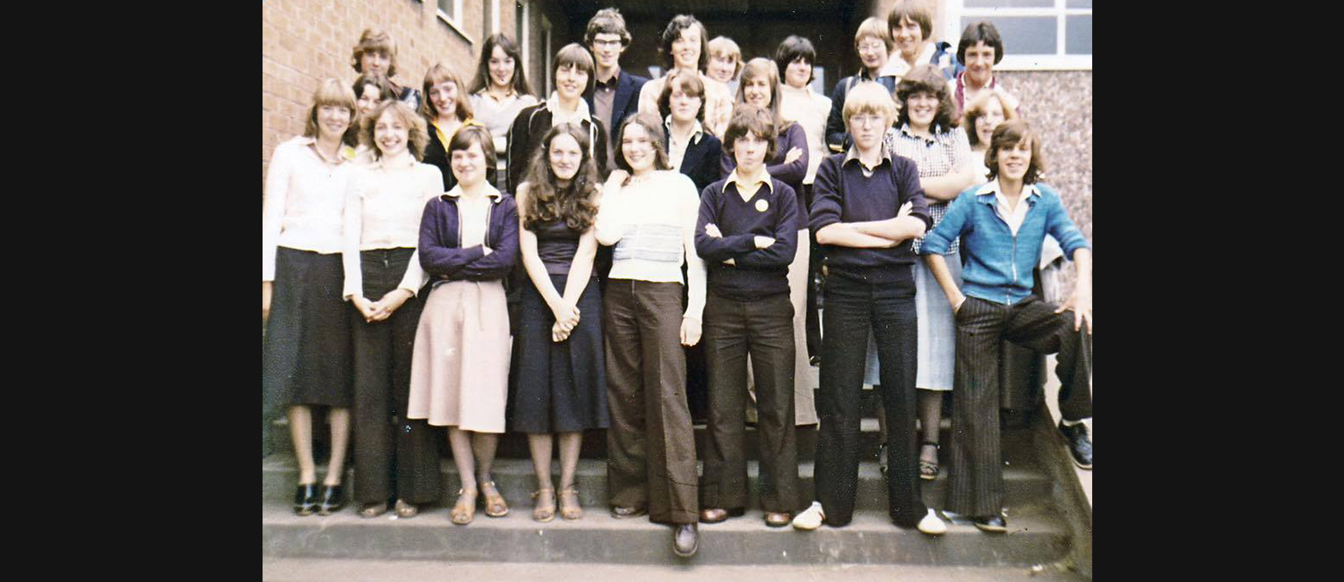 Trinity 3rd Year Students 1976-77