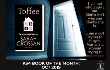 Toffee -  Sarah Crossman
