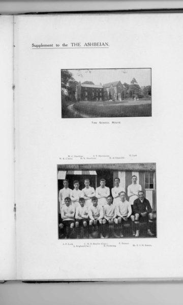 Robert de Glanville ABGS-1911 RUGBY TEAM
