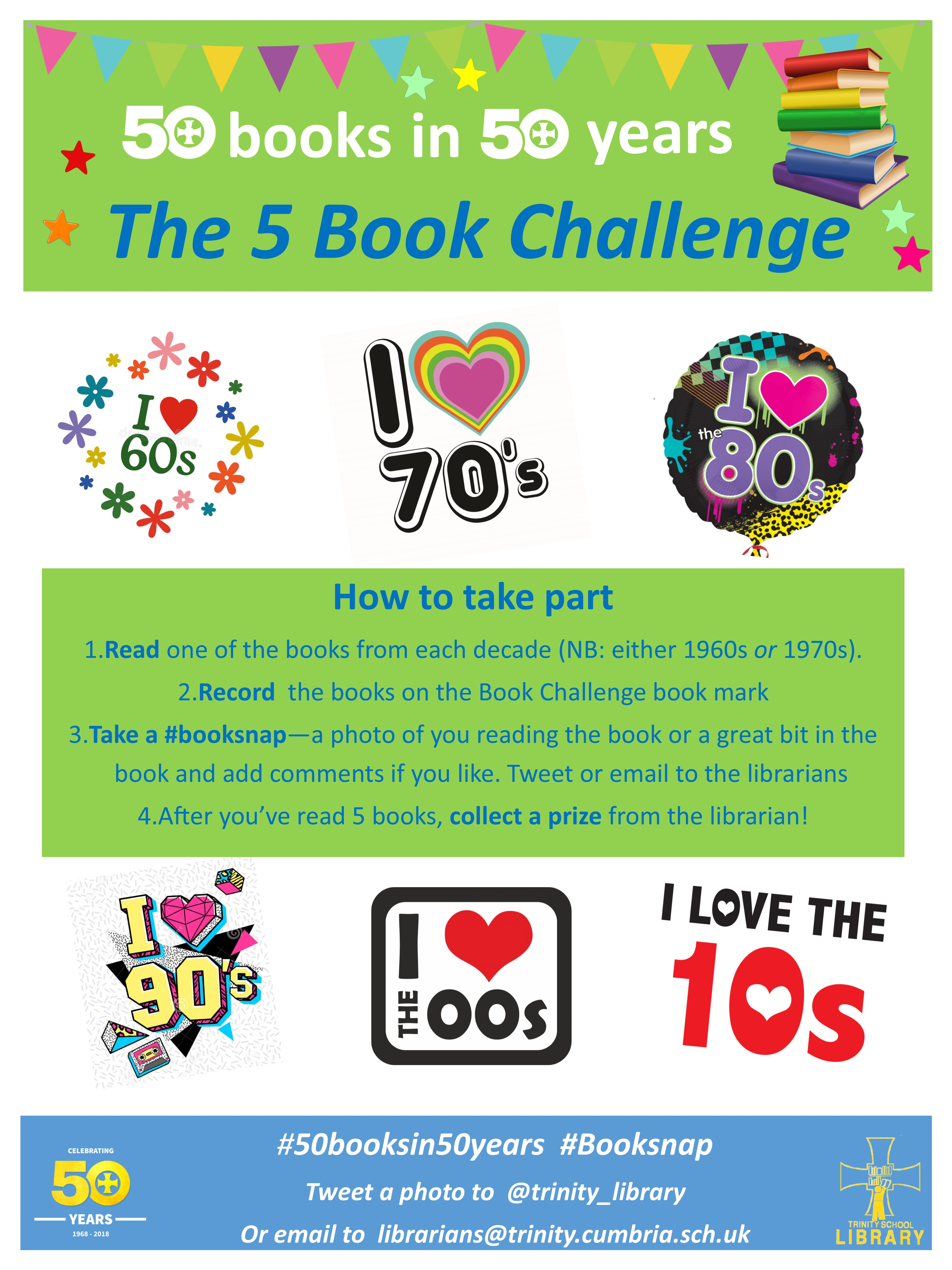 50 Books in 50 Years Challenge