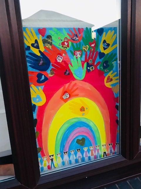 Rainbow Design 1