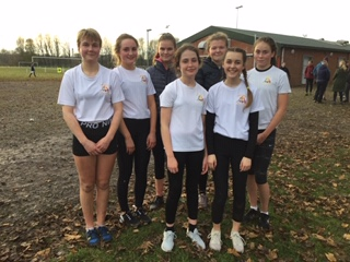 Inter girls cross county