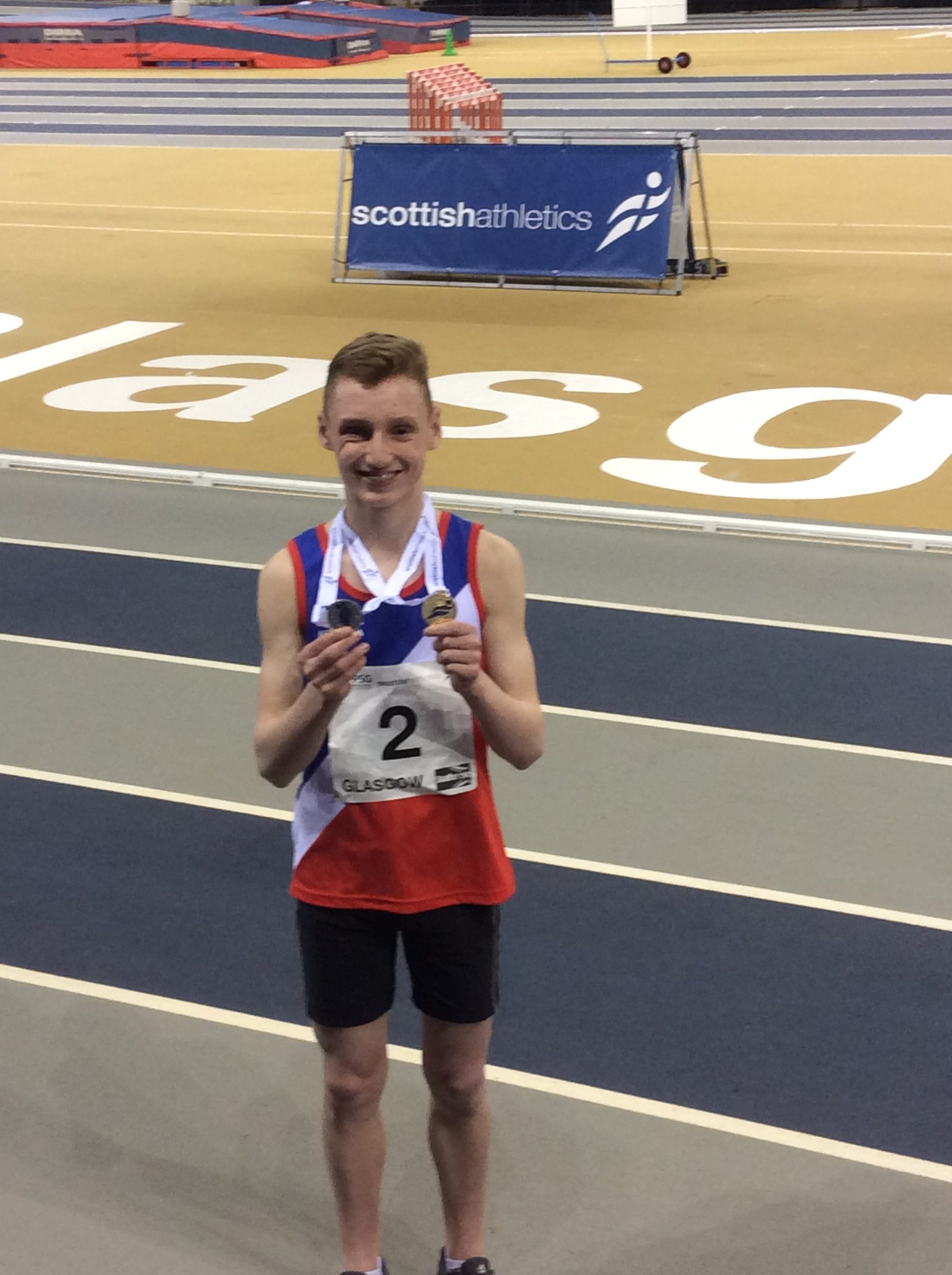 Student Success: Scottish Indoor Athletics Championships