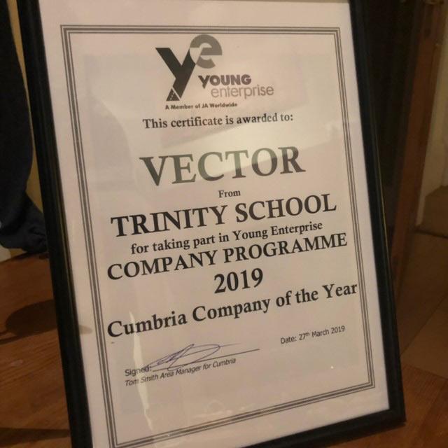 Year 12 Young Enterprise team (Vector)
