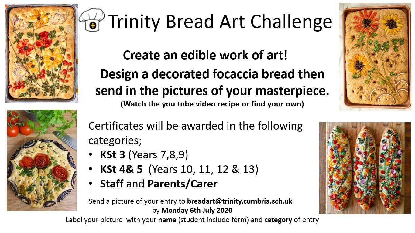 bread art challenge