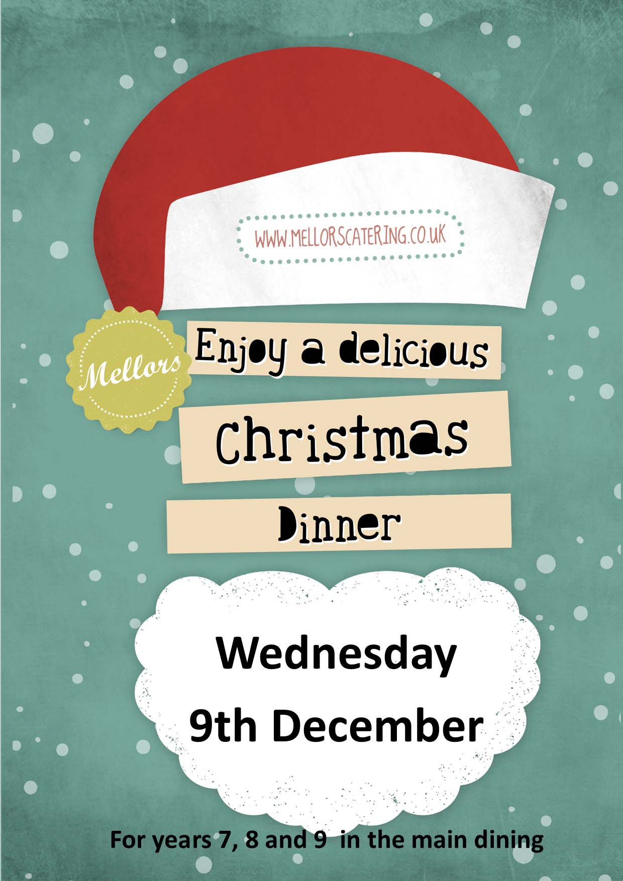 christmas dinner day posters 838 1