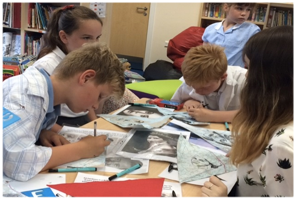 Student Success – British Artists Workshop at Kingmoor
