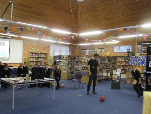 Football in the Library