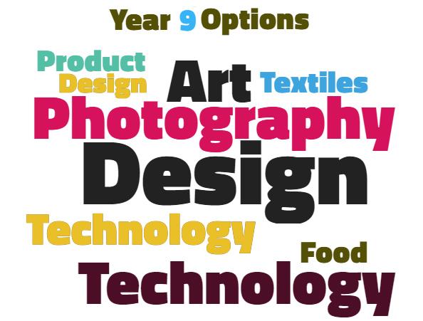 Year 9 Options – D & Technology/Art & Design